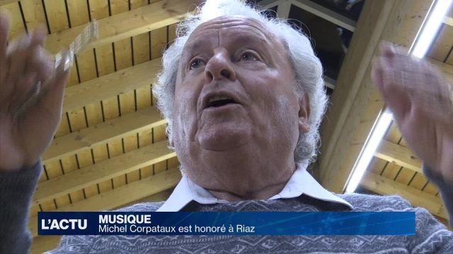 Michel Corpataux est honoré à Riaz