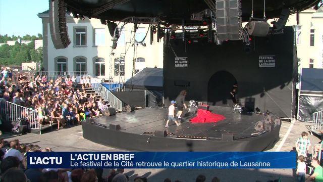 Le festival de la Cité fait son retour en centre ville