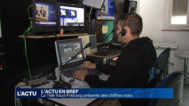 La Télé Vaud-Fribourg présente des chiffres noirs