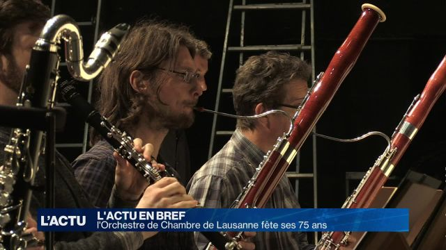 L'Orchestre de Chambre de Lausanne fête ses 75 ans