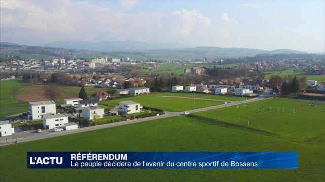 Un référendum sur la rénovation du centre sportif de Bossens