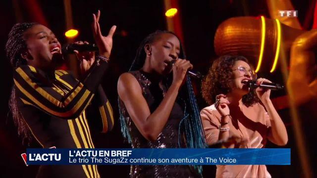 Le trio The SugaZz continue son aventure à The Voice