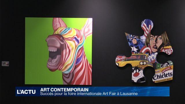 Succès pour la foire internationale Art Fair à Lausanne