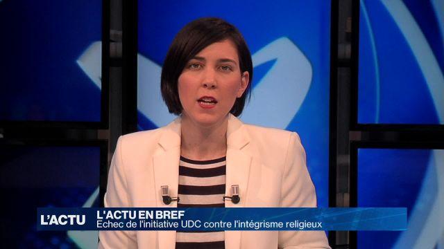 Echec de l'initiative UDC contre l'intégrisme religieux