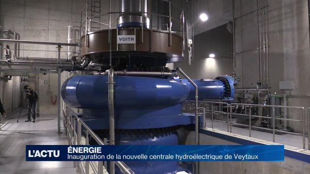 Inauguration de la nouvelle centrale hydroélectrique de FMHL