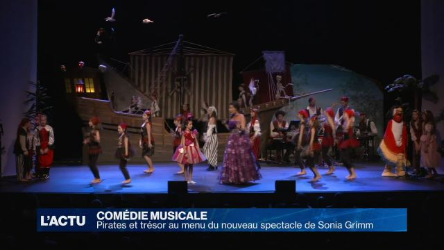 Des pirates au menu du nouveau spectacle de Sonia Grimm