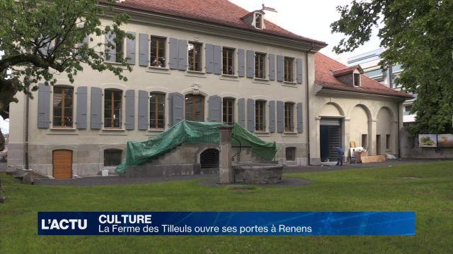 La Ferme des Tilleuls ouvre ses portes à Renens