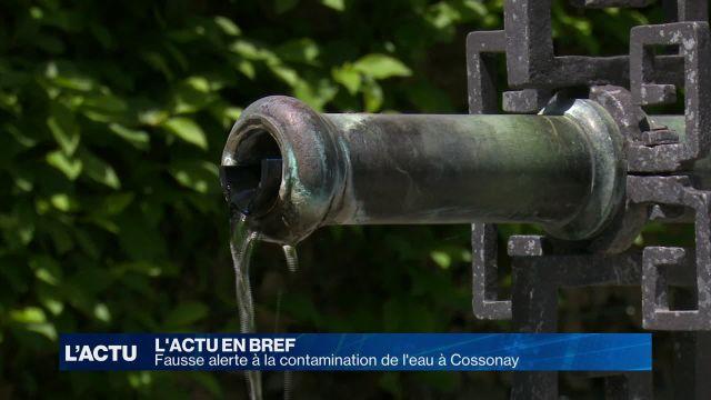 Fausse alerte à l'eau contaminée à Cossonay