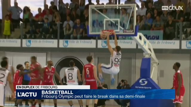 Fribourg Olympic peut faire le break