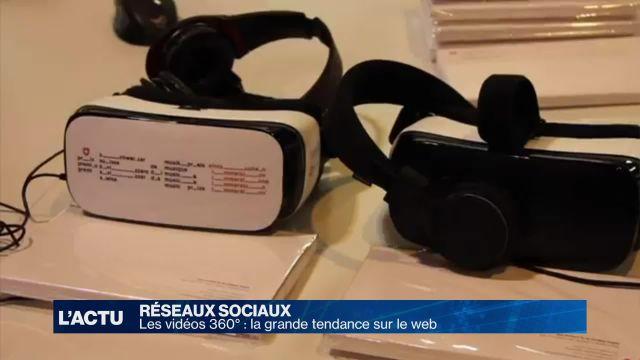 Les vidéos 360° cartonnent sur le web