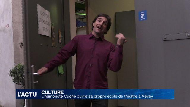 L'humoriste Cuche ouvre sa propre école de théâtre à Vevey
