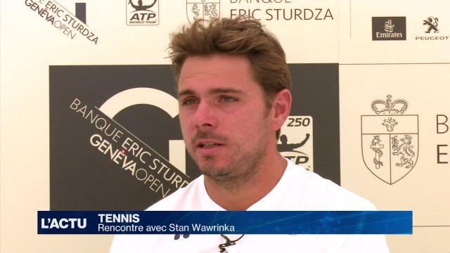 Tennis : Rencontre avec Stan Wawrinka