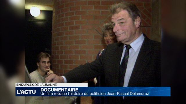 Un film retrace le parcours de Jean-Pascal Delamuraz