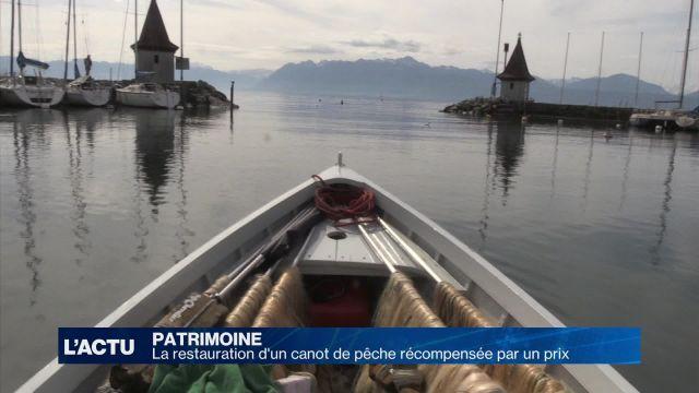 Prix du Patrimoine naval pour un canot de pêche