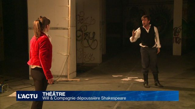 Will & Compagnie dépoussière Shakespeare