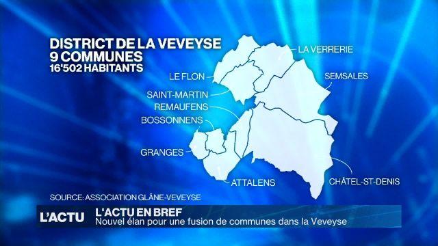 Nouvel élan pour une fusion de communes dans la Veveyse