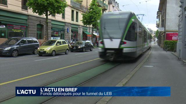 Fonds débloqués pour le tunnel du LEB à Lausanne