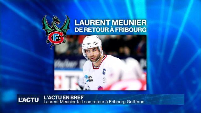 Laurent Meunier fait son retour à Fribourg Gottéron