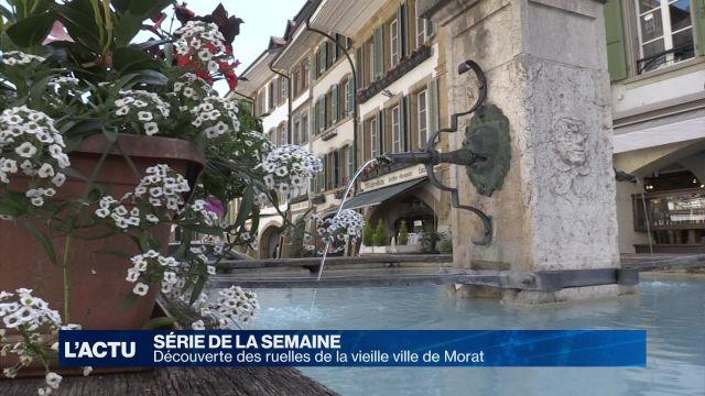 Découverte du centre historique de Morat (2)