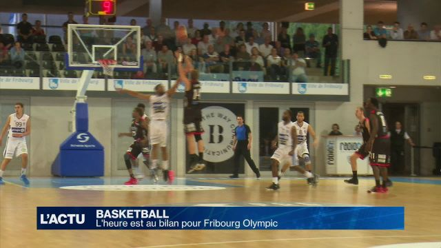Fribourg Olympic coule à pic