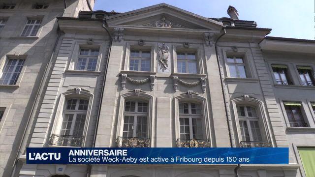 La société Weck-Aeby est active à Fribourg depuis 150 ans