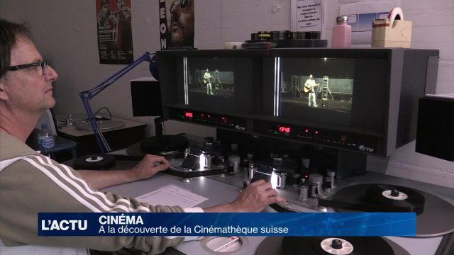 A la découverte de la Cinémathèque suisse
