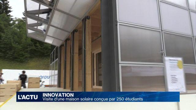 Une maison solaire conçue par des étudiants