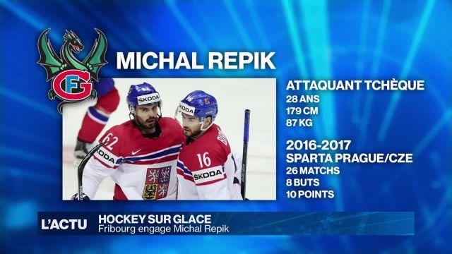 Fribourg-Gottéron engage Michal Repik