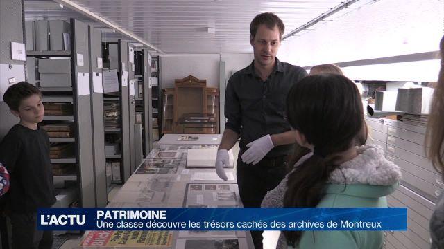 Journée porte-ouverte aux Archives de Montreux