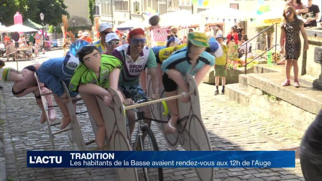 31 équipes étaient au départ des 12h de l'Auge à Fribourg