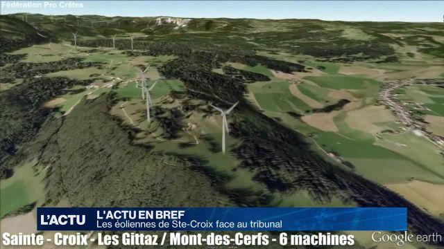 Les éoliennes de Sainte-Croix suscitent des oppositions
