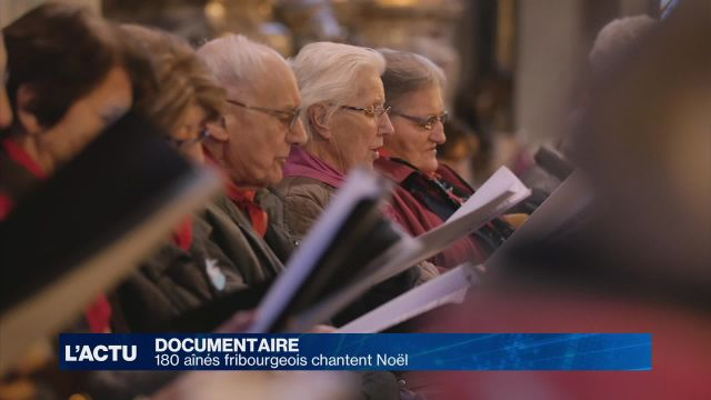 Un documentaire sur des aînés fribourgeois qui chantent Noël