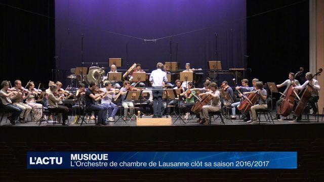 L'Orchestre de Chambre de Lausanne clôt sa saison 2016/2017
