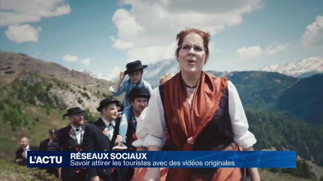Des vidéos pour attirer les touristes