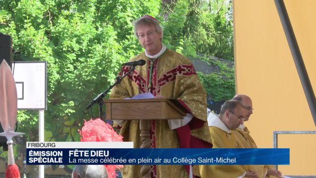 Messe de la Fête Dieu à Fribourg