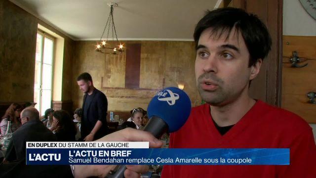 Samuel Bendahan remplace Cesla Amarelle sous la coupole