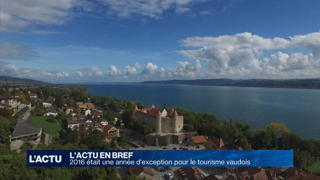 2016 était une année d'exception pour le tourisme vaudois