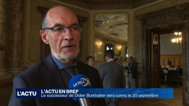Le successeur de Didier Burkhalter sera connu en septembre