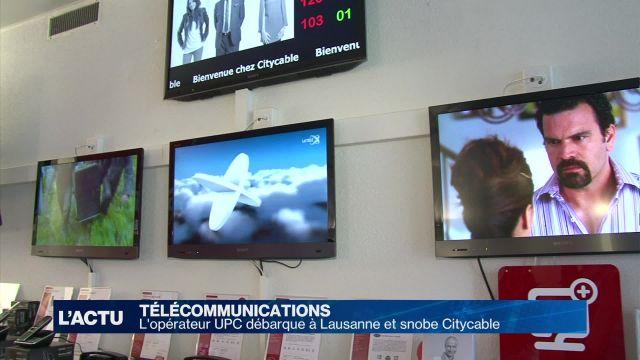 L'opérateur UPC débarque à Lausanne et snobe Citycable