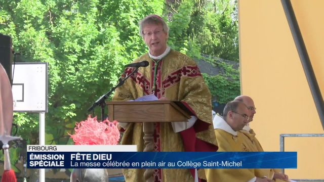 Fête-Dieu à Fribourg