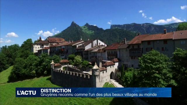 Gruyères reconnu comme l'un des plus beaux villages au monde
