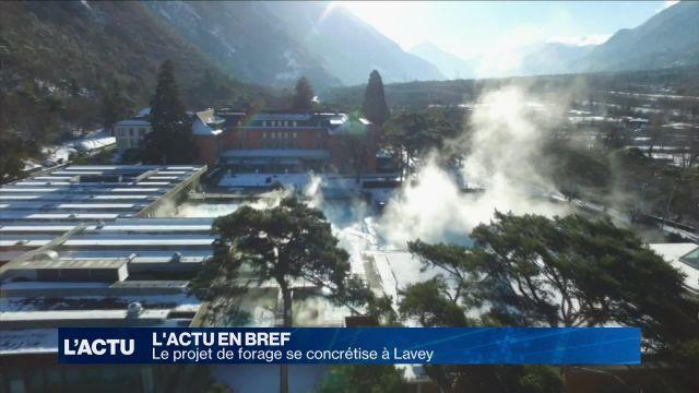 Le projet de forage se concrétise à Lavey