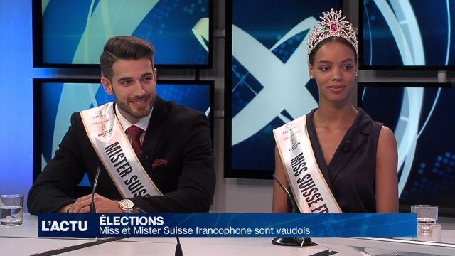 Miss et Mister Suisse francophone sont vaudois