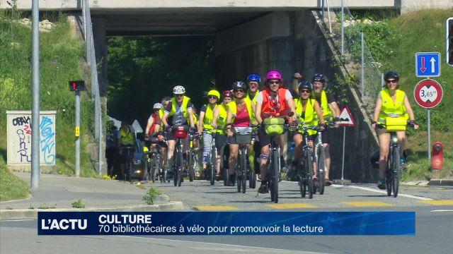 70 bibliothécaires à vélo pour promouvoir la lecture