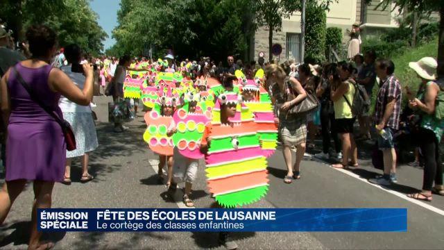 Fête des écoles de Lausanne