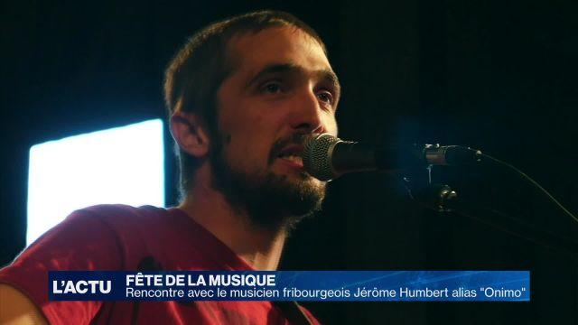Fête de la musique: portrait du musicien fribourgeois Onimo