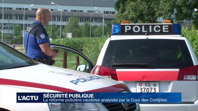 La réforme policière analysée par la Cour des comptes