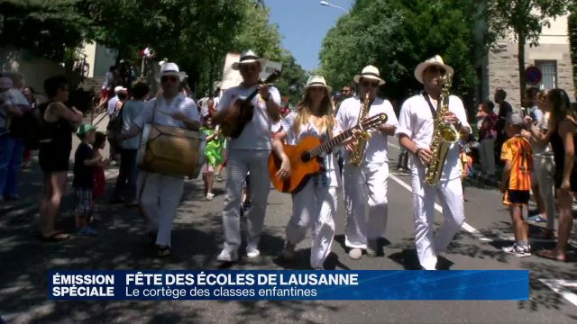 Fête des écoles enfantines de Lausanne