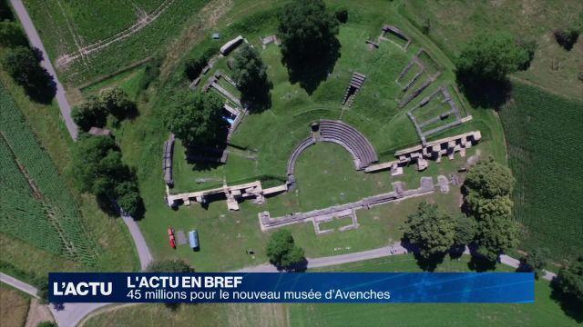 45 millions pour le nouveau musée d'Avenches