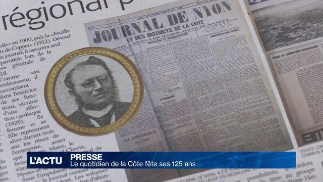 Le quotidien de la Côte fête ses 125 ans